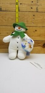NWT Eden Snowman Plush Raymond Briggs Stuffed Toy 1996 Enterprises Ltd 9 inch