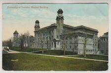 Canada postcard - University of Toronto, Medical Building - P/U
