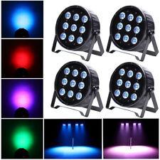 4PCS 120W 9 LED Par Stage Light RGBW LED DMX LED Show Club DJ Disco Party Light