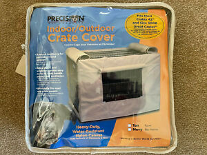 """Precision Pet Products Indoor/Outdoor Dog Crate Cover - 42"""" crate"""