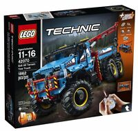 LEGO Technic 6x6 All Terrain Tow Truck 42070 2 in 1 Set w Power Functions