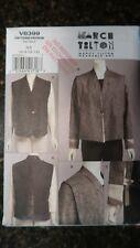 Vogue V8399 Marcy Tilton Wearable Art Original 2007 Pattern sz 6-8-10-12 Uncut