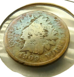 1909 INDIAN HEAD PENNY COIN + FREE SHIPPING!