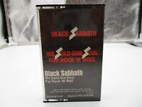 Black Sabbath We Sold Our Soul For Rock N Roll Cassette