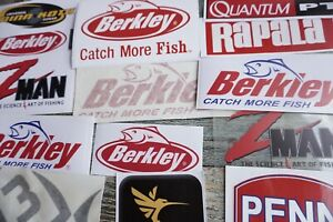 Tacklebox Stickers Fisherman's 21 Plus More Free , All Around Outdoor Use