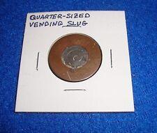 Vintage Quarter Sized Vending Token