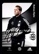 Andreas Köpke  DFB Autogrammkarte 2006 Original Signiert+A 137379