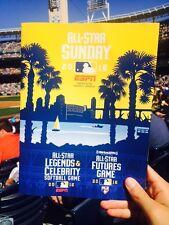NEW 2016 MLB All-Star Futures Game Program - San Diego Petco Park