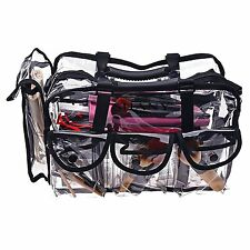 Cosmetic Bag MakeUp Organizer Clear Pouch Travel Hanging Toiletry Case Storage