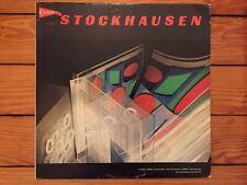 Karlheinz Stockhausen - Refrain/Kontakte 1968 CandideCE31022 Jacket VG Vinyl VG+