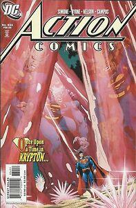 Superman Action Comics 834 Cover A First Print 2006 Gail Simone John Byrne DC .