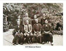 Okinawan Masters bios and photos