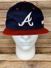 NWT Vintage Atlanta Braves MLB Baseball Snapback Hat NEW WITH TAGS