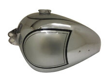 BSA A7 PLUNGER MODEL CHROME & SILVER PAINTED PETROL TANK 1950'S(Rep) Brand New
