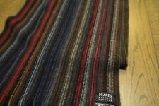 DRAKE'S  scarf multi-color wool super soft Barneys NY