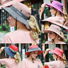 Women Summer Outdoor Ponytail Sun Hat Wide Brim Mesh Safari Fishing Cap Foldable