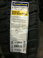 1 New LT 245 70 17 LRE 10 Ply Goodyear Wrangler MT/R with Kevlar Mud Tire