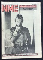 NME 12 April 1980  Sting Black Uhuru Earl Hines Mensi