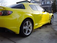 mazda rx8 rear bumper spats/lips new bodykits great styling uk made