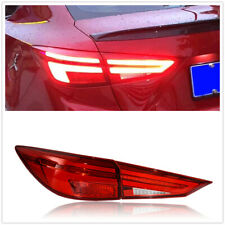Pair For Mazda 3 Axela LED Taillights Assembly LED Rear Lamps 2014 2015-2018 Red