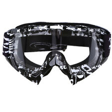 Motorcycle Scooter Glasse Off Road Snow Ski Snowboard Goggles Clear Lens Eyewear