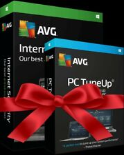 AVG Internet Security 2018 Unlimited Devices + AVG Pc Tune up-Ultimate Package