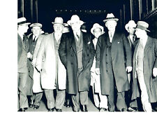AL CAPONE AND CREW 8X10 PHOTO GANGSTER CHICAGO PROHIBITION SCARFACE