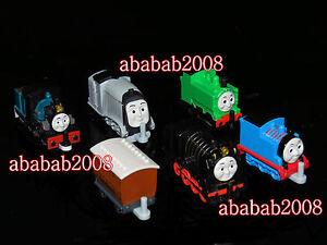 Bandai Thomas & Friends figure Vol.4 gashapon (full set 6 pcs with stickers)