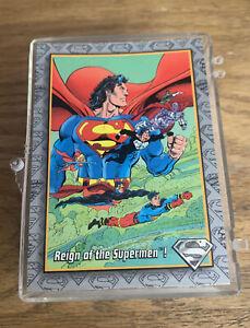 1993 Sky Box The Return Of SuperMan Complete Set 1-100