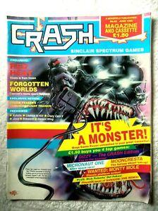 60390 Issue 65 Crash Magazine 1989