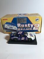 RUSTY WALLACE #2 MILLER LITE 1999 FORD TAURUS ACTION 1:64 LIMITED EDITION DCST