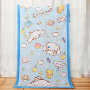 New Japan Cinnamoroll white dog Towel  Beach Towel Cotton 70*140