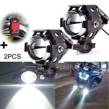 Motorcycle Headlight U5 LED DRL 125W Driving Spot Fog Light Lamp Universal