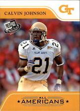 Rookie Calvin Johnson Press Pass Original Football Cards
