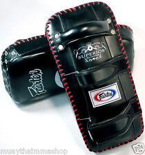 FAIRTEX MUAYTHAI Standard Curved Kick Pads Super Premium Genuine Leather KPLS2