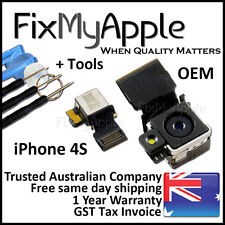 iPhone 4S OEM Original Rear Back 8MP Camera Lens Replacement Flex Cable Tools
