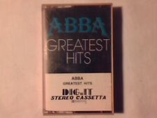 ABBA Greatest hits mc cassette k7 ITALY RARISSIMA NUOVA VERY RARE UNPLAYED!!!