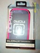 Incipio SILICRYLIC Case For Samsung Galaxy S3 All Carrier Pink/Black Open Packag