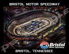 Tn - Bristol Motor Speedway (night) - Travel Souvenir Flexible Fridge Magnet