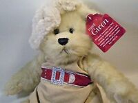 Gwen Teddy Bear Plush Dress in Winter Knit Outfit Jointed Stuffed Animal 17""