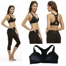 New High Impact Sport Bra RacerBack Wireless Comfortable Cool Dry XS/S/M/L/XL