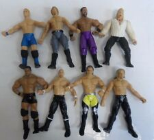 """VINTAGE LOT OF 8 WWE ACTION FIGURES WRESTLING 7"""" (9784-1 A) #13"""
