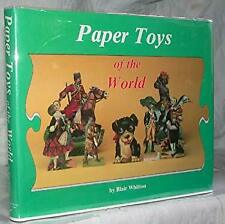 Paper Toys of the World Hardcover Blair Whitton