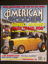 "AMERICAN RODDER  Darrell Mayabb's Deuce ""Road Rod""  January 2005"