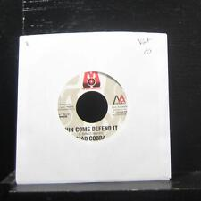 """Mad Cobra / Christopher - Run Come Defend It / All I Have 7"""" MM058 VG+ Vinyl 45"""