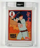 Topps Project 2020 Mike Trout By Fucci SP #63 Low print run 16430
