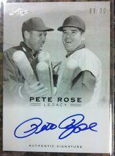 Pete Rose 2011 Leaf Legacy On Card Auto #09/30