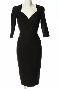 STOP STARING Midikleid schwarz Elegant Damen Gr. DE 36 Kleid Dress Midi Dress