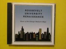 Roosevelt University Renaissance Music Of The Chicago Musical College 1993 CD