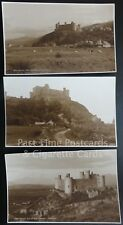 HARLECH CASTLE Collection of 3 PC ALL SHOWN c1924 RP by Judges No.8751/9009/9013